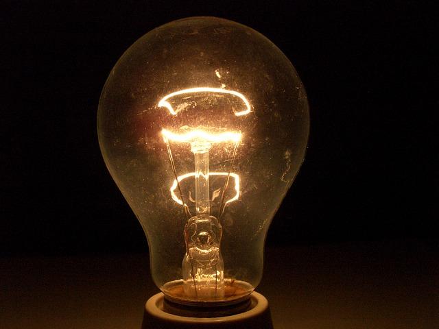 tlumené světlo