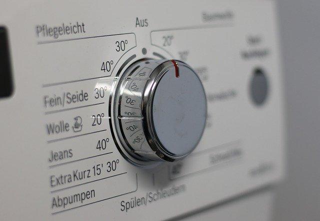 otočný knoflík pračky