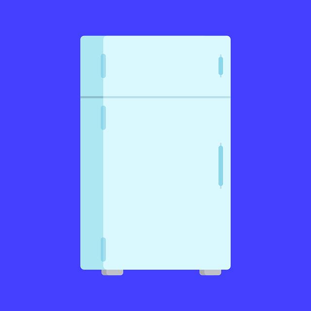 bílá lednice