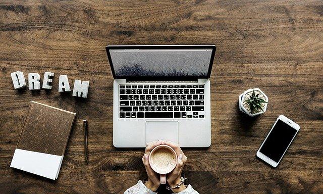 káva blogera